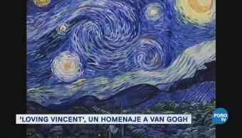 Loving Vincent Película Animada Pintada Óleo