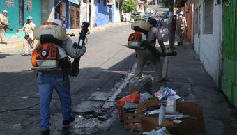 Refuerzan fumigación para evitar dengue, zika y chikungunya en Guerrero