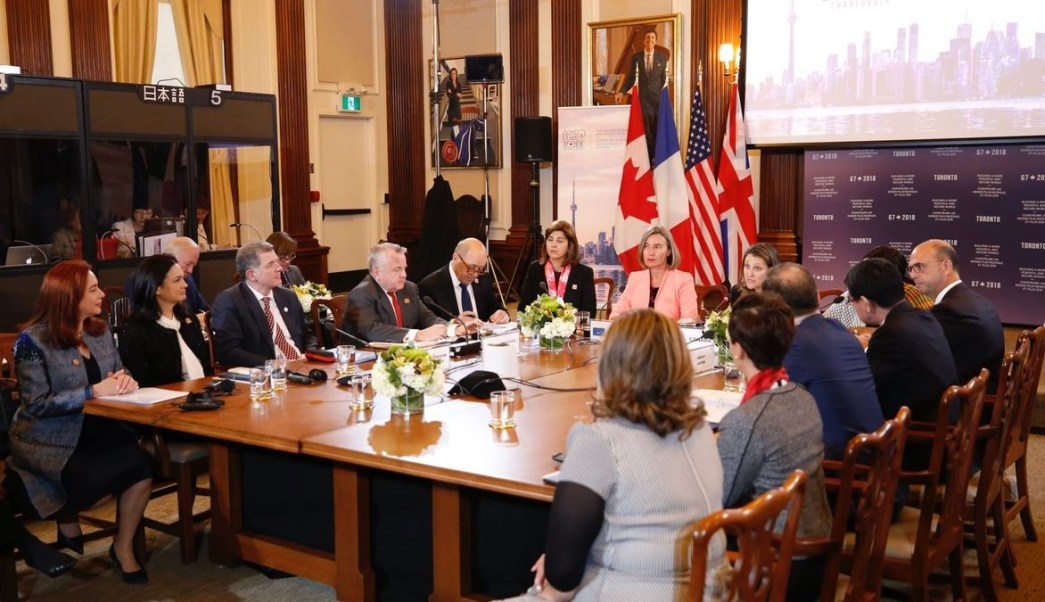 Países G7 se reúnen en Toronto para discutir sobre Rusia y Corea