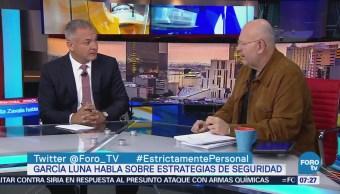García Luna: Error, desaparecer la Secretaría de Seguridad Pública