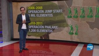 Genaro Lozano explica el envío de tropas estadounidenses a la frontera