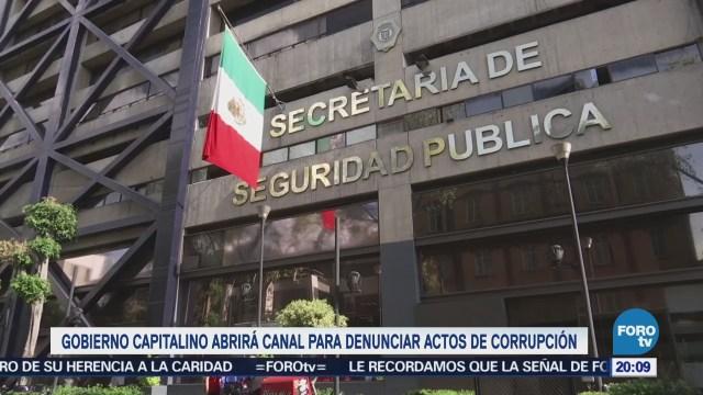 Gobierno CDMX Operativo Denunciar Combatir Corrupción