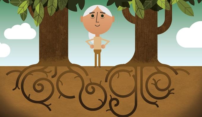 Google celebra el Día de la Tierra con doodle para Jane Goodall