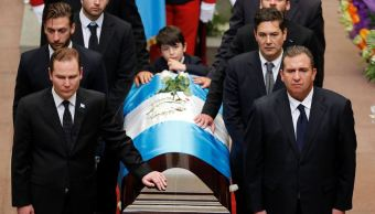 Guatemala despide al expresidente Álvaro Arzú