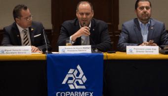 Gustavo de Hoyos: La Coparmex pide a los candidatos asumir compromisos claros