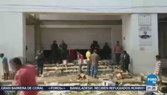 Habitantes Saquean Tiendas Autoservicio Arcelia Guerrero