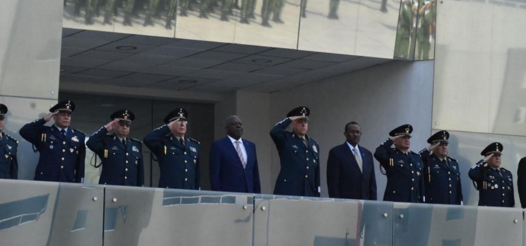 Ministro de Defensa de Haití visita la CDMX