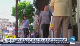 Historia de los refugiados en el barrio libanés de Bouri Hammoud