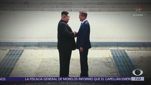 Histórico acercamiento entre las dos Coreas