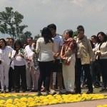 Rinden homenaje a catedrática de la UNAM e hija, asesinadas en CDMX