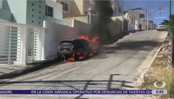 Incendian el auto del periodista Andrés Balán, en Campeche