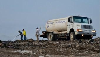 Se cumplen 23 días de incendio en relleno sanitario de Colima