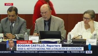INEE presenta informe a la Cámara de Diputados