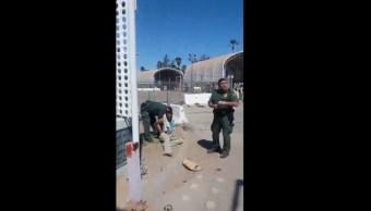 Video exhibe trato de la Patrulla Fronteriza contra un aparente indocumentado