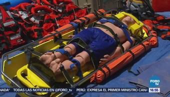 Cuerpos Rescate Sonora Reciben Entrenamiento Presas Ríos