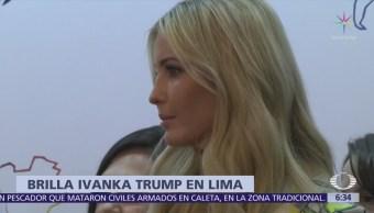 Ivanka Trump acapara reflectores en Cumbre de las Américas, en Perú