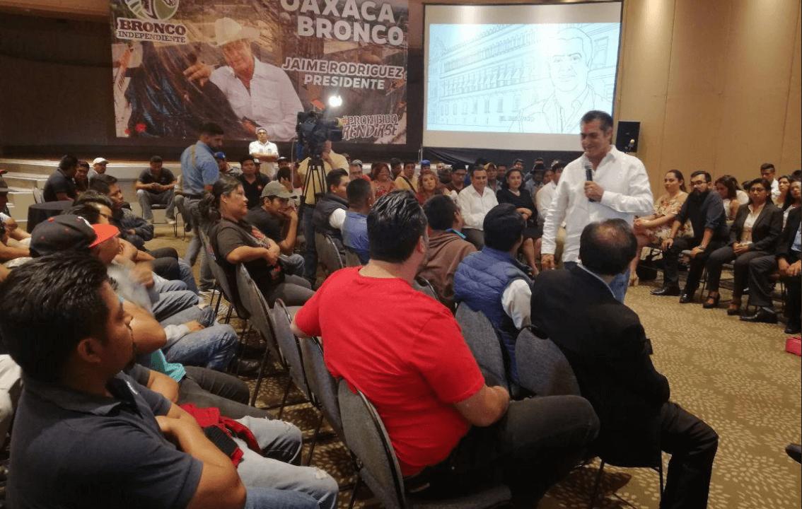 Jaime Rodríguez se prepara en redes sociales para el debate