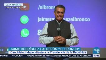 Jaime Rodríguez Calderón pide a jóvenes salir a votar