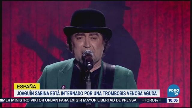 Joaquín Sabina Continúa Hospitalizado Problema Circulatorio