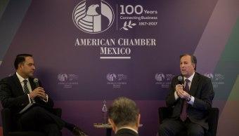 Meade participa en la asamblea general de la American Chamber