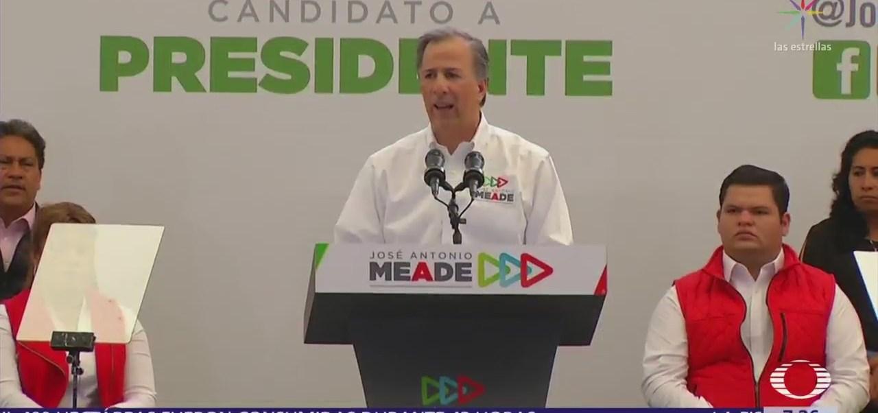 José Antonio Meade recibe el apoyo de Antorcha Campesina