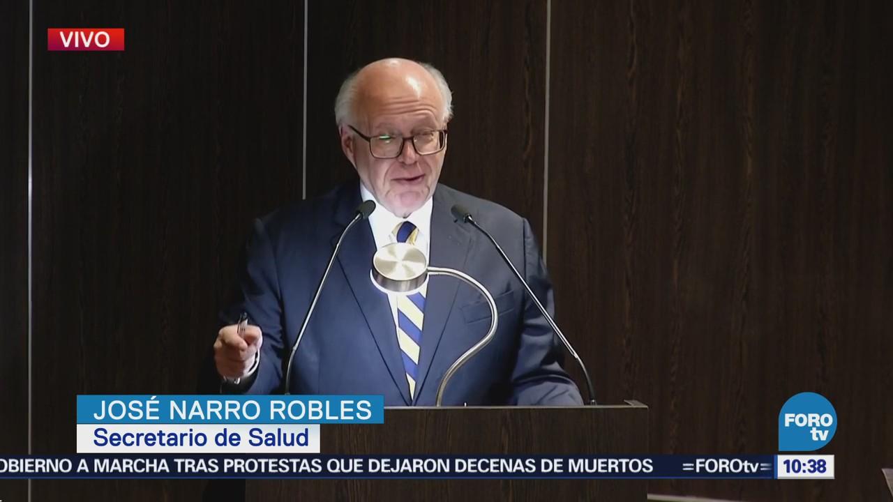 José Narro encabeza la presentación de medicamentos innovadores