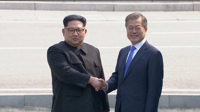 Kim y Moon inician cumbre histórica zona desmilitarizada