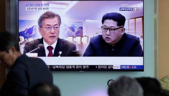 Kim parte zona desmilitarizada Corea reunirse Moon