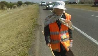 'La abuelita peregrina' camina desde Monterrey hasta la Basílica