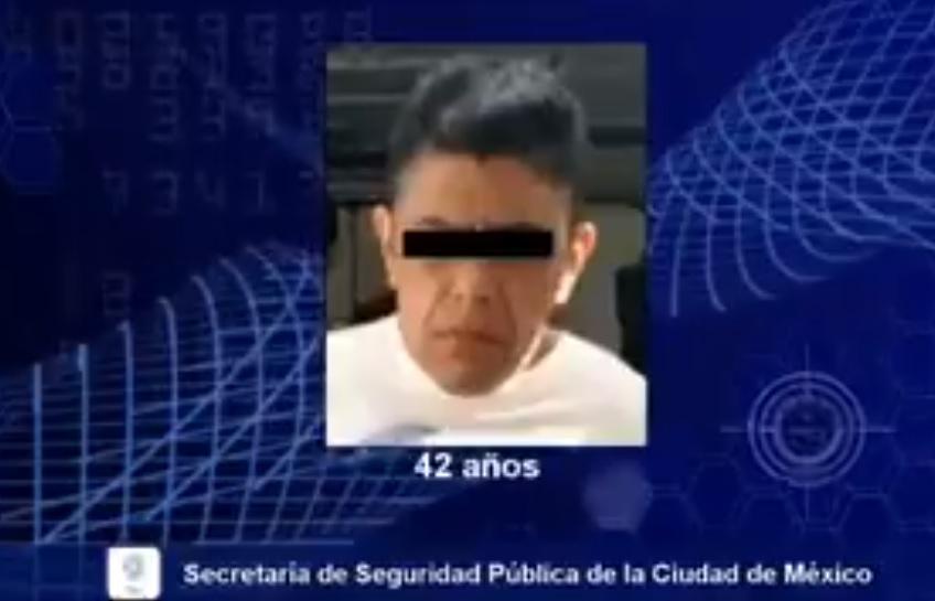 Cae presunto ladrón de al menos 4 mil celulares en la CDMX