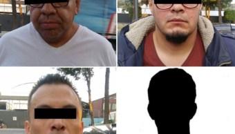 Detiene a cuatro presuntos ladrones de tráiler en la CDMX