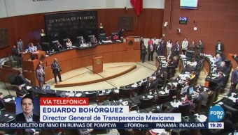 Legisladores Designan Consejeros INAI Sin Apertura