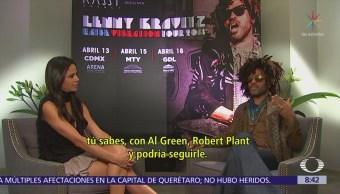 Lenny Kravitz 'creará vibraciones' en México
