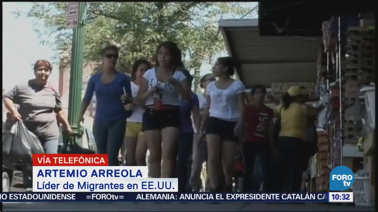 Líder Migrantes Eu Pide Más Apoyo Artemio Arreola