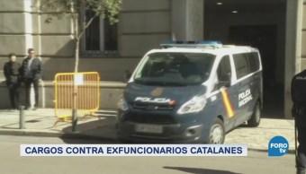 Líderes independentistas catalanes son procesados por rebelión