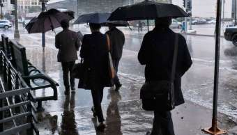 Se pronostican lluvias con granizo para nueve delegaciones de la CDMX
