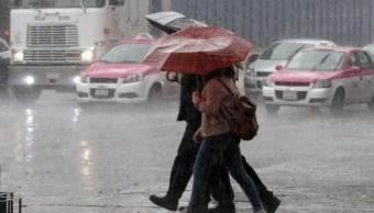 Se prevé lluvia por la tarde y noche este sábado en CDMX