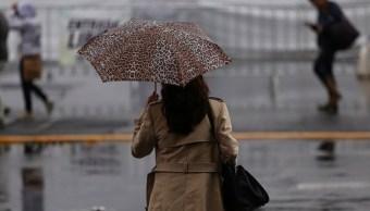 Por lluvia y granizo, alerta amarilla en 4 delegaciones de la CDMX