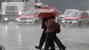 Pronostican tarde y noche lluviosa para la CDMX