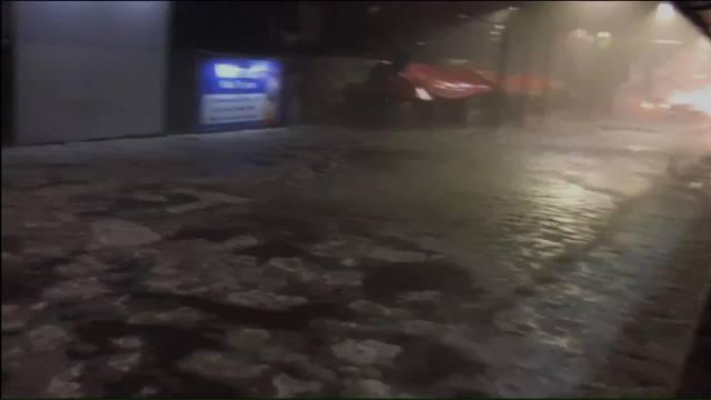 Lluvia deja afectaciones en Tlalpan y Xochimilco