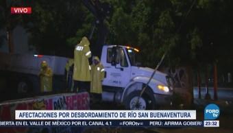 FOROtv, Televisa News, Lluvia, deja, afectaciones, Xochimilco