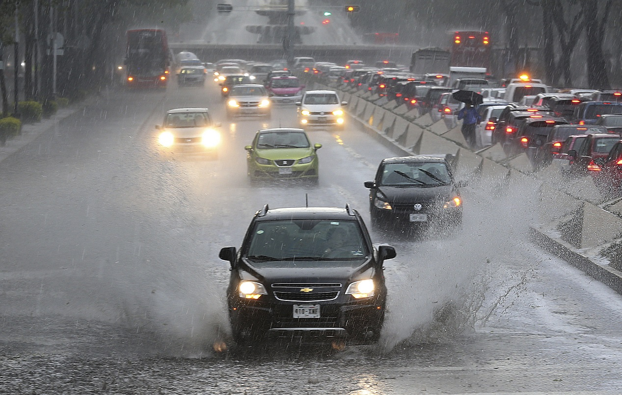 Frente frío ocasionará lluvias en 20 estados