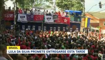 Lula Da Silva Promete Entregarse Tarde