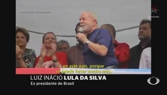Lula da Silva se entrega a las autoridades