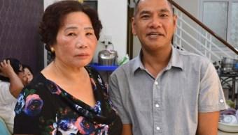 Reencuentra a su madre 40 años después de guerra de Vietnam