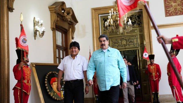 Maduro y Morales viajarán Cuba reunirse Díaz Canel