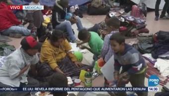 Manifestantes Protestan Contra Política Migratoria Trump Mexicali