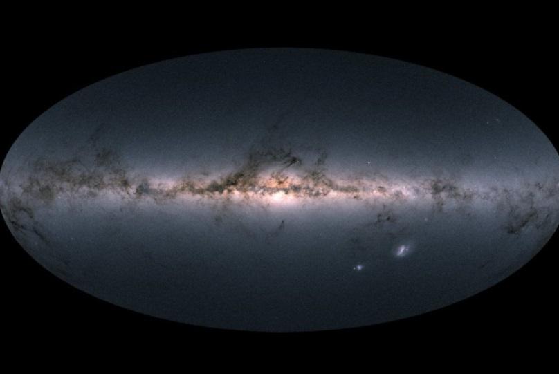 Publican mapa estelar más detallado de la Vía Láctea