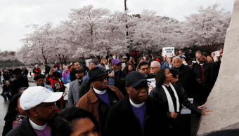 Recuerdan a Martin Luther King en 50 aniversario de su asesinato