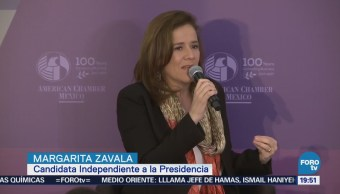 Margarita Zavala Acude Cita American Chamber